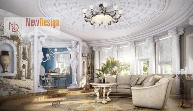 Освещение в античном дизайне - фото 11