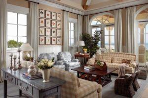 Дизайна интерьера квартиры в стиле кантри - фото 19