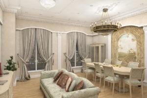 Дизайна интерьера квартиры в греческом стиле - фото 23