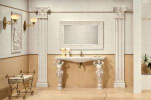 Дизайна интерьера квартиры в греческом стиле - фото 21