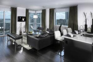 Дизайна интерьера квартиры в стиле хай-тек - фото 23