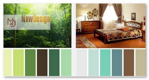 Цветовая гамма стиля кантри - фото 8