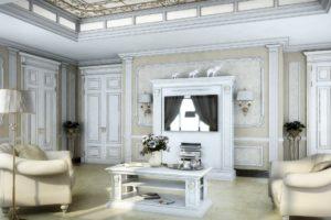 Дизайна интерьера квартиры в греческом стиле - фото 18