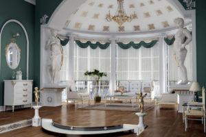 Дизайна интерьера квартиры в греческом стиле - фото 24