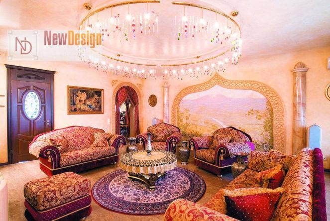Освещение в арабском интерьере - фото 11