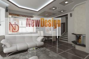 Дизайна интерьера квартиры в стиле хай-тек - фото 14