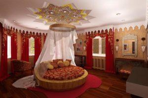 Дизайна интерьера квартиры в арабском стиле - фото 22