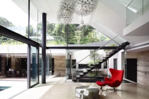 Дизайна интерьера квартиры в стиле хай-тек - фото 20