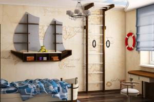 Дизайн интерьера ЖК «Петровский квартал» в стиле Средиземноморский, фото 9