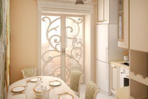 Дизайн интерьера ЖК «Петровский квартал» в стиле Неоклассицизм, фото 8