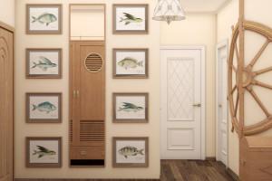 Дизайн интерьера ЖК «Петровский квартал» в стиле Средиземноморский, фото 19