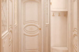 Дизайн интерьера ЖК «Петровский квартал» в стиле Неоклассицизм, фото 12