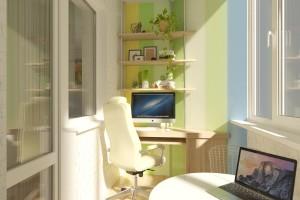 Дизайн интерьера 1-но к. кв. 45 м2, ЖК «Петровский квартал», фото 12