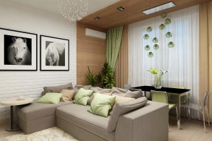 Дизайн интерьера 3-х к.кв. 103 м2, ЖК «Малахіт», фото 31