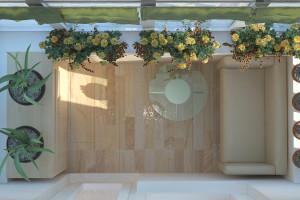 Дизайн интерьера 3-х к.кв. 103 м2, ЖК «Малахіт», фото 21