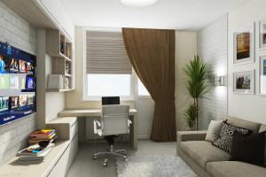 Дизайн интерьера 3-х к.кв. 103 м2, ЖК «Малахіт», фото 1