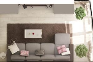 Дизайн интерьера Новострой, 62м2, Шумского 3г,, фото 29