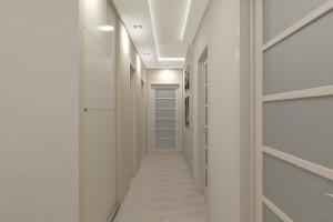 Дизайн интерьера 3-х к.кв. 103 м2, ЖК «Малахіт», фото 2