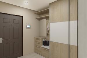 Дизайн интерьера 3-х к.кв. 103 м2, ЖК «Малахіт», фото 3