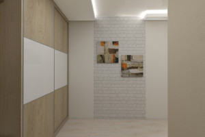 Дизайн интерьера 3-х к.кв. 103 м2, ЖК «Малахіт», фото 4