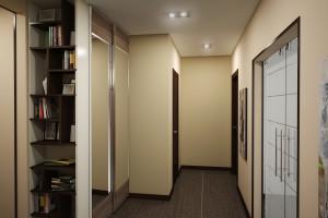 Дизайн интерьера 2-х к.кв. 80 м2 по ул Драгоманова, фото 8