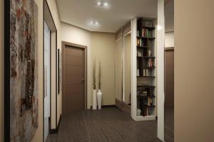 Дизайн интерьера 2-х к.кв. 80 м2 по ул Драгоманова, фото 10