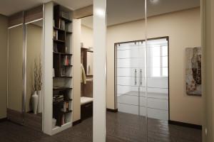 Дизайн интерьера 2-х к.кв. 80 м2 по ул Драгоманова, фото 12