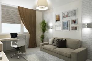 Дизайн интерьера 3-х к.кв. 103 м2, ЖК «Малахіт», фото 5