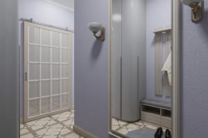 Дизайн интерьера 1-но к.кв. 49 м2, ЖК «Озерные зори», фото 14