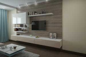 Дизайн интерьера 2-х к.кв. 80 м2 по ул Драгоманова, фото 13