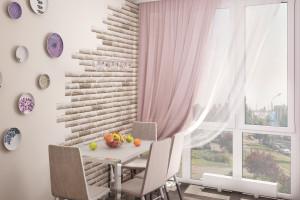 Дизайн интерьера Новострой, 62м2, Шумского 3г,, фото 25