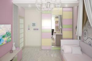 Дизайн интерьера 3-х к.кв. 103 м2, ЖК «Малахіт», фото 7