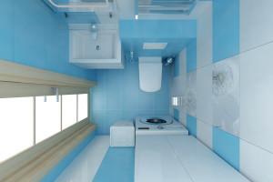 Дизайн интерьера 3-х к.кв. 103 м2, ЖК «Малахіт», фото 17