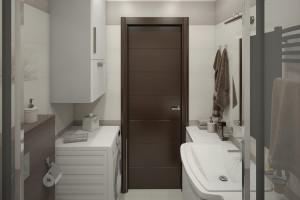 Дизайн интерьера 2-х к.кв. 80 м2 по ул Драгоманова, фото 20