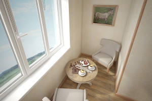 Дизайн интерьера 2-х к. кв. 60 м2, по ул.  Урицкого, фото 11