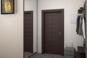 Дизайн интерьера Новострой, 62м2, Шумского 3г,, фото 21