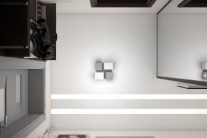 Дизайн интерьера Новострой, 62м2, Шумского 3г,, фото 17