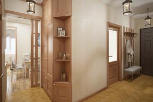 Дизайн интерьера 2-х к. кв. 60 м2, по ул.  Урицкого, фото 14