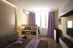 Дизайн интерьера 2-х к.кв. 80 м2 по ул Драгоманова, фото 28