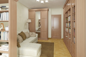 Дизайн интерьера 2-х к. кв. 60 м2, по ул. Урицкого, фото 17