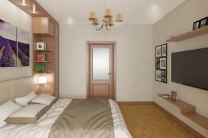 Дизайн интерьера 2-х к. кв. 60 м2, по ул.  Урицкого, фото 20