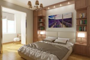 Дизайн интерьера 2-х к. кв. 60 м2, по ул.  Урицкого, фото 22