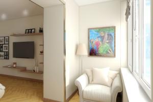 Дизайн интерьера 2-х к. кв. 60 м2, по ул. Урицкого, фото 25