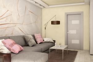 Дизайн интерьера Новострой, 62м2, Шумского 3г,, фото 35