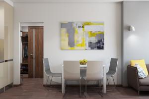 Дизайн интерьера 1к.кв. 35.5 м2, новострой на Васильковской, фото 6