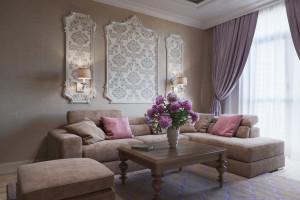 Дизайн интерьера 3-х квартира. 106 м2, ЖК «Златоустовский», фото 1