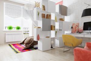 Дизайн интерьера Дизайн в 2-х квартире, новострой, ЖК «Парк Холл Горький», фото 2