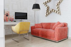 Дизайн интерьера Дизайн в 2-х квартире, новострой, ЖК «Парк Холл Горький», фото 6
