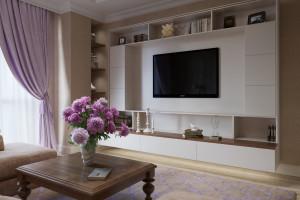 Дизайн интерьера 3-х квартира. 106 м2, ЖК «Златоустовский», фото 6