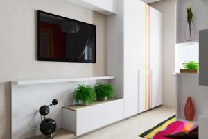 Дизайн интерьера Дизайн в 2-х квартире, новострой, ЖК «Парк Холл Горький», фото 12